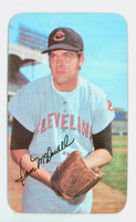 1971 Topps Baseball Supers 16 Sam McDowell Cleveland Indians Very Good