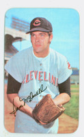 1971 Topps Baseball Supers 16 Sam McDowell Cleveland Indians Very Good to Excellent