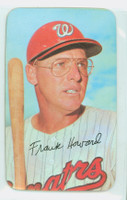 1971 Topps Baseball Supers 17 Frank Howard Washington Senators Very Good