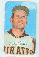 1971 Topps Baseball Supers 21 Luke Walker Pittsburgh Pirates Near-Mint