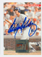 Billy Ashley AUTOGRAPH 1996 Donruss Dodgers 