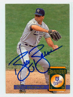 Billy Brewer AUTOGRAPH 1994 Donruss Royals 