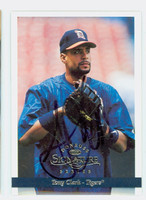 Tony Clark AUTOGRAPH 1997 Donruss SIGNATURE Tigers 
