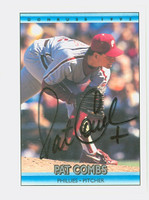 Pat Combs AUTOGRAPH 1992 Donruss Phillies 