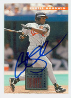 Curtis Goodwin AUTOGRAPH 1996 Donruss Orioles 