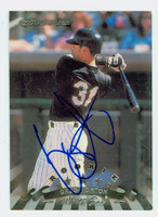 Greg Norton AUTOGRAPH 1998 Donruss White Sox 