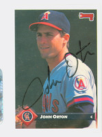 John Orton AUTOGRAPH 1993 Donruss Angels 