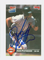 John Patterson AUTOGRAPH 1993 Donruss Giants 