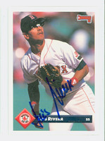 Luis Rivera AUTOGRAPH 1993 Donruss Red Sox 