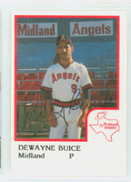 De Wayne Buice AUTOGRAPH 1986 ProCards Midland Angels 