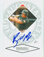 Brandon Moss AUTOGRAPH 2004 Just Augusta Greenjackets 