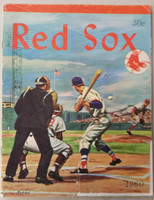 1960 Red Sox Yearbook Fair to Good Heavy creasing, sm tape on cover, partial tear; contents fine