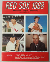 1968 Red Sox Yearbook (50 pg) Near-Mint to Mint Very clean, fresh example