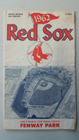 1962 Red Sox Program vs Indians (24 pg) Scored Jun 10 Monbouquette vs Grant (Bos 4-3 11 inn, HR Yaz #8, Tillman Walk-off) Very Good [Neatly scored, ticket stapled to pg 2, cover creasing)]