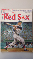 1968 Red Sox Program vs Twins (32 pg) Partial Scored 2 1/2 INN Jul 5 Ellsworth vs Perry (Bos 4-2, HR Hawk Harrelson) Very Good [Heavy scuffing and lt wear on all pgs]