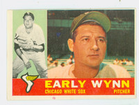1960 Topps Baseball 1 Early Wynn Chicago White Sox Good to Very Good