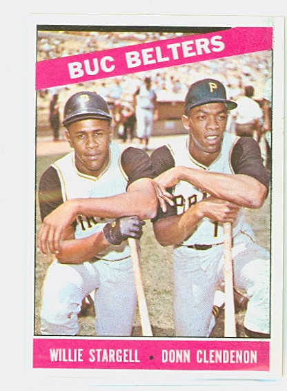 1966 Topps Baseball 99 Buc Belters Pittsburgh Pirates Near Mint