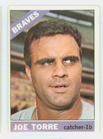 1966 Topps Baseball 130 Joe Torre Atlanta Braves Very Good to Excellent