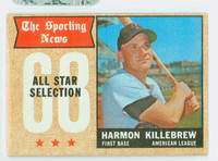 1968 Topps Baseball 361 Harmon Killebrew All-Star Minnesota Twins Good to Very Good