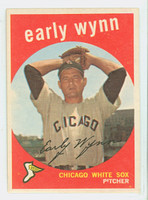 1959 Topps Baseball 260 Early Wynn Chicago White Sox Good to Very Good