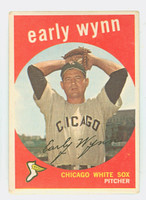 1959 Topps Baseball 260 Early Wynn Chicago White Sox Very Good