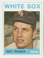 1964 Topps Baseball 13 Hoyt Wilhelm Chicago White Sox Fair to Poor