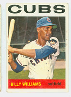 1964 Topps Baseball 175 Billy Williams Chicago Cubs Fair to Poor