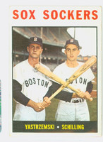 1964 Topps Baseball 182 Sox Sockers Boston Red Sox Excellent