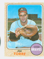 1968 Topps Baseball 30 Joe Torre Atlanta Braves Fair to Good