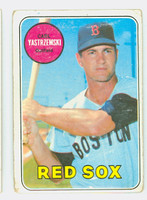 1969 Topps Baseball 130 Carl Yastrzemski Boston Red Sox Fair to Good