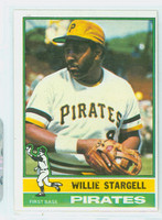1976 Topps Baseball 270 Willie Stargell Pittsburgh Pirates Very Good to Excellent