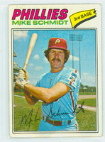 1977 Topps Baseball 140 Mike Schmidt Philadelphia Phillies Good to Very Good