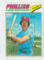 1977 Topps Baseball 140 Mike Schmidt Philadelphia Phillies Excellent