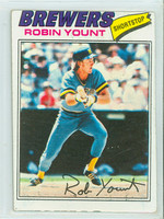 1977 Topps Baseball 635 Robin Yount Milwaukee Brewers Good to Very Good