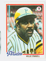 1978 Topps Baseball 510 Willie Stargell Pittsburgh Pirates Excellent to Mint