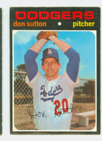 1971 OPC Baseball 361 Don Sutton Los Angeles Dodgers Very Good