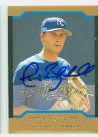 Chad Blackwell AUTOGRAPH 2004 Bowman THICK STOCK VARIETY Royals 
