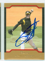 Sean Burnett AUTOGRAPH 2004 Bowman THICK STOCK VARIETY Pirates 