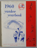 1960 Yankees Yearbook - AL Pennant Winning Team (50 pgs) Very Good to Excellent Lt wear along binding, sl wear on both covers, ow clean