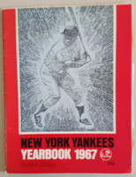 1967 Yankees Yearbook Revised - Mickey Mantle Cover (50 pgs) Excellent Wear on both covers, ow very clean