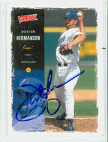Dustin Hermanson AUTOGRAPH 2000 Upper Deck Victory Expos 