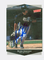 Mark Johnson AUTOGRAPH 1999 Upper Deck Victory White Sox 