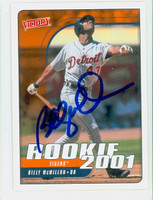 Billy McMillon AUTOGRAPH 2001 Upper Deck Victory Tigers 