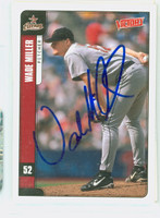 Wade Miller AUTOGRAPH 2001 Upper Deck Victory Astros 