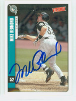 Mike Redmond AUTOGRAPH 2001 Upper Deck Victory Marlins 