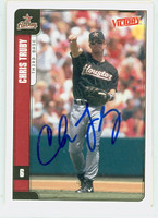Chris Truby AUTOGRAPH 2001 Upper Deck Victory Astros 