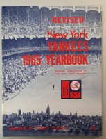1965 Yankees Yearbook Revised (50 pgs) Near-Mint Plus Lt wear, super clean