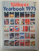 1975 Yankees Yearbook (82 pgs) Near-Mint Lt wear, ow clean