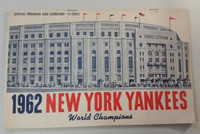 1962 Yankees Program vs Angels (24 pg) Scored Sep 3 Stafford vs Belinsky (NY 8-2, HR Howard, Leon Wagner) Very Good to Excellent [Wear on both cover, esp reverse, ow clean]