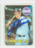 Jay Johnstone AUTOGRAPH 1969 Topps #59 Angels CARD IS G/VG; CRN WEAR, AUTO CLEAN  [SKU:JohnJ1772_T69BBCC]